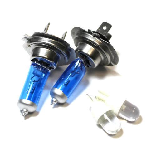 VW Scirocco 137 H7 501 100w Super White Xenon Low//LED Trade Side Light Bulbs Set