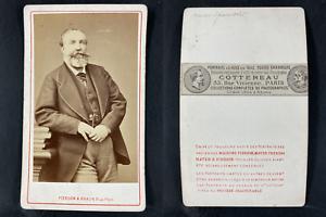 Pierson et Braun, Paris, Antoine Orléans, duc de Montpensier Vintage cdv albumen