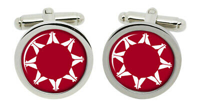 Cherokee Nation Cufflinks and Tie Clip Set Tribe