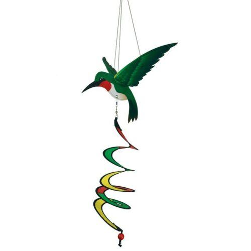 Hummingbird Theme Twister Windsock