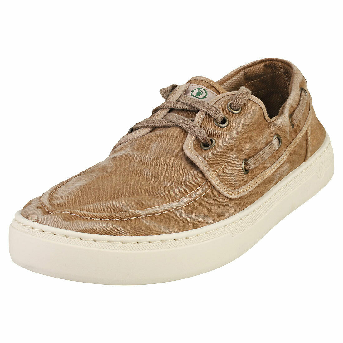 Natural World Old Quercia Mens Beige Casual Shoes - 11 UK