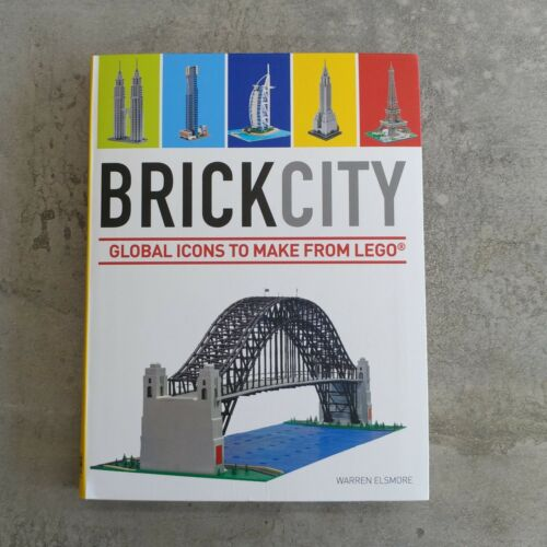 1 of 1 - Brick City Global Icons to Make from Lego by Warren Elsmore Paperback 2013 USED