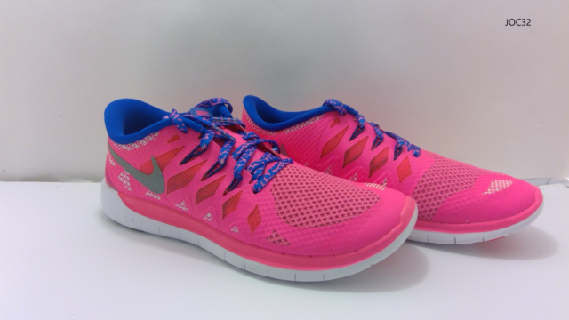 Nike Free 5.0 (GS) 644446 601 size 7Y Hyper Pink Running Shoes