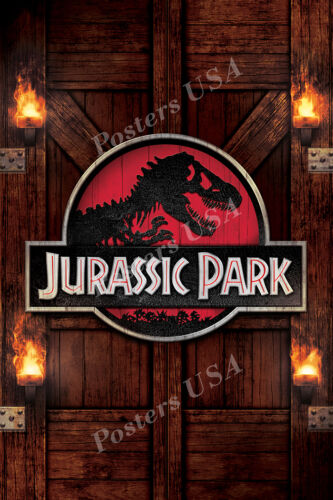 Posters USA Jurassic Park Original Movie Poster Glossy Finish MOV293