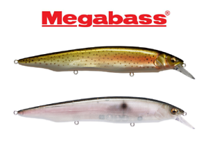 Megabass Kanata Jerkbaits **CHOOSE SIZE AND COLOR**