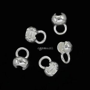 10PC-Sterling-Silver-Necklace-End-Knot-Cover-Crimp-Beads-for-1-5-2mm-Knot-99705
