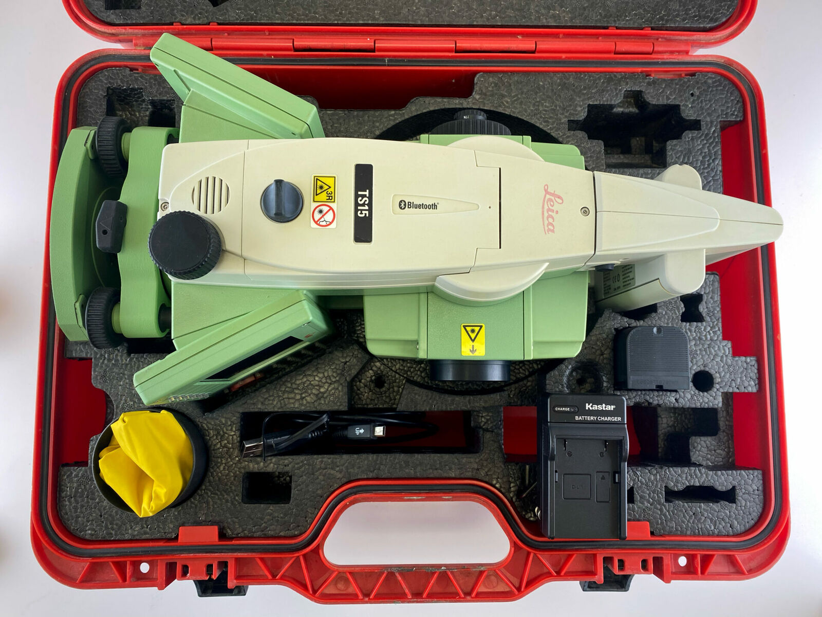 """Leica TS15 P 3"""" R400 Robotic Total Station Reconditioned, Financing Available!"""