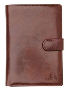 Cellini Leather Bifold Wallet with Tab Closure CW0074