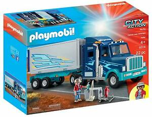 Playmobil-9314-Big-Rig-Trucker-Play-Set-Brand-New