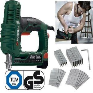 PARKSIDE-Elektrotacker-PET-25-C2-Werkzeug-Tacker-Elektr-Hefter-Klammer-Geraet