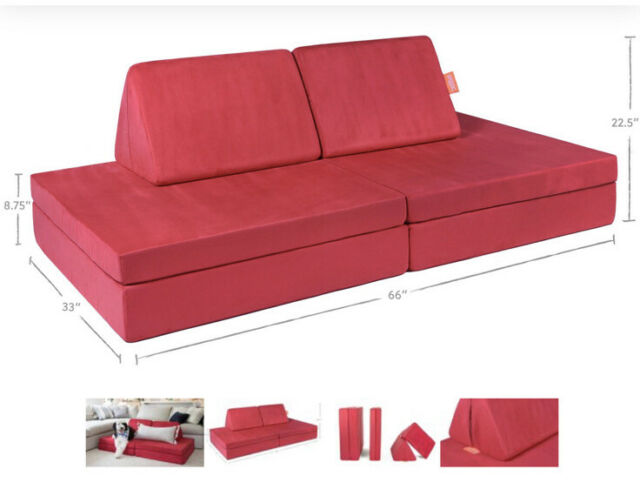 The Nugget Comfort Couch Kids- Broadway (red) BRAND NEW ...