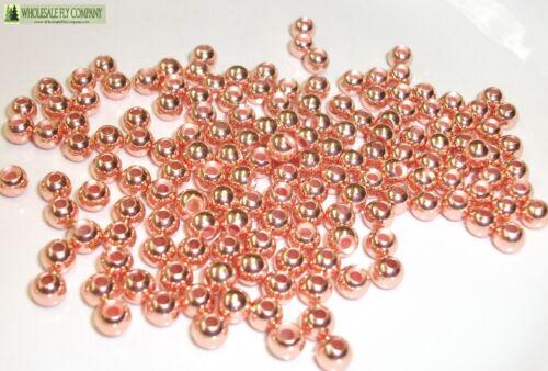 600 Copper Color Tungsten Fly Tying Beads Assorted Sizes B Angelsport-Artikel Angelsport-Köder, -Futtermittel & -Fliegen
