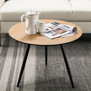 Details about Modern Small Round End Side Coffee/Kitchen/Sofa Side Table  Living Room Furniture