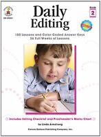 Daily Editing, Grade 2 (daily Series)