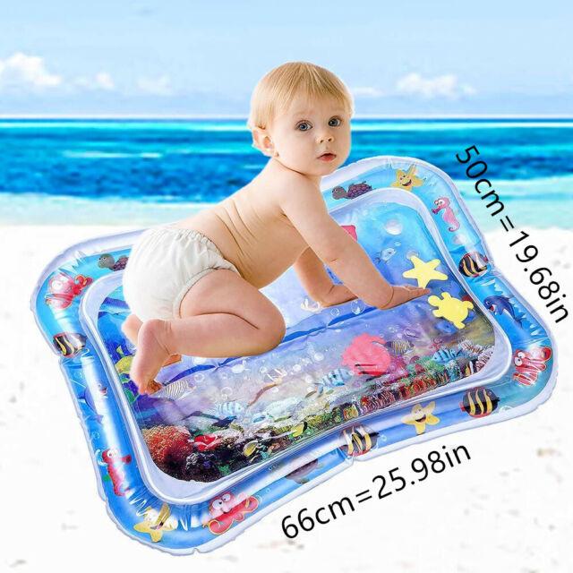 Broadroot Baby Kinder Wasser Spielmatte Aufblasbare Kleinkinder Bauch Zeit  DE