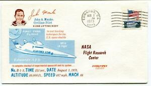 Volontaire 1973 First Free Flight John Manke Civilian Pilot X-24b Edwards Nasa Usa Space Les Produits Sont Disponibles Sans Restriction