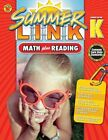 Summer Link: Math Plus Reading, Summer Before Grade K by American Education Publishing (Paperback / softback, 2014)