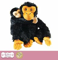 Dr Goodall Ispired Mother & Baby Plush Chimp, Accessories For 18 Girl Dolls