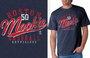 huge discount 7e122 b9656 Image is loading Mookie-Betts-Boston-Red-Sox-Rookie-Center-Fielder-