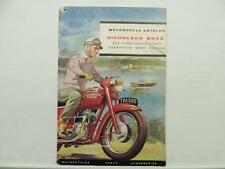 Vintage 1960 Triumph BSA Motorcycle Catalog Scooter Star Sunbeam L7114