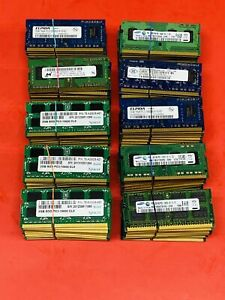 Lot-Of-100-2GB-MEMORY-RAM-Pc3-10600S-Mix-Brand-For-Laptop