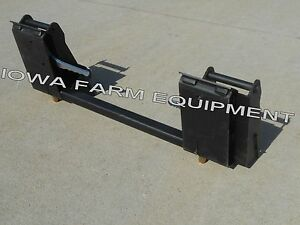 Details about Koyker Quick Attach or Pin-On Loader to Skid Steer Quick  Attach Adapter