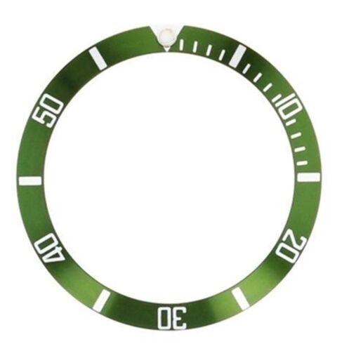 Details about  /BEZEL INSERT ALUMINUM FOR TUDOR SUBMARINER 7928 7922 7016 7016//0 7021//0 GREEN