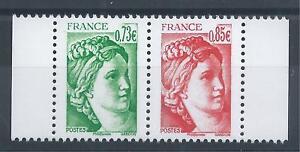 Paire-de-Sabine-5183-84-du-carnet-40-ans-de-la-Sabine-de-Gandon