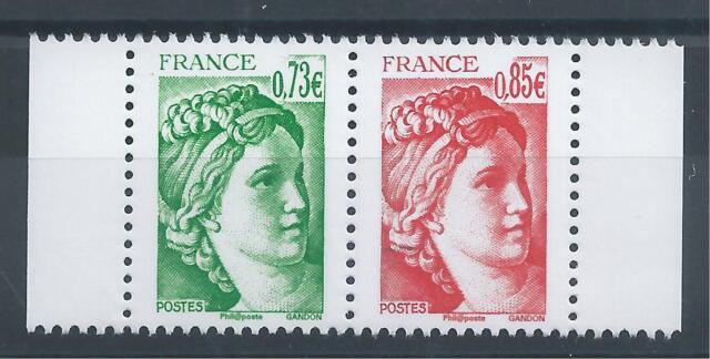 Paire de Sabine 5183/84 du carnet 40 ans de la Sabine de Gandon