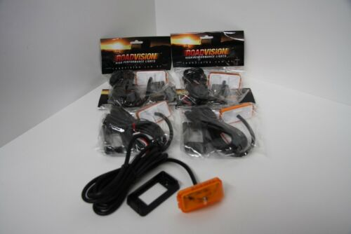 5 X Multi Volt 10V30V Amber LED Clearance Lamp Roadvision VSL15VY