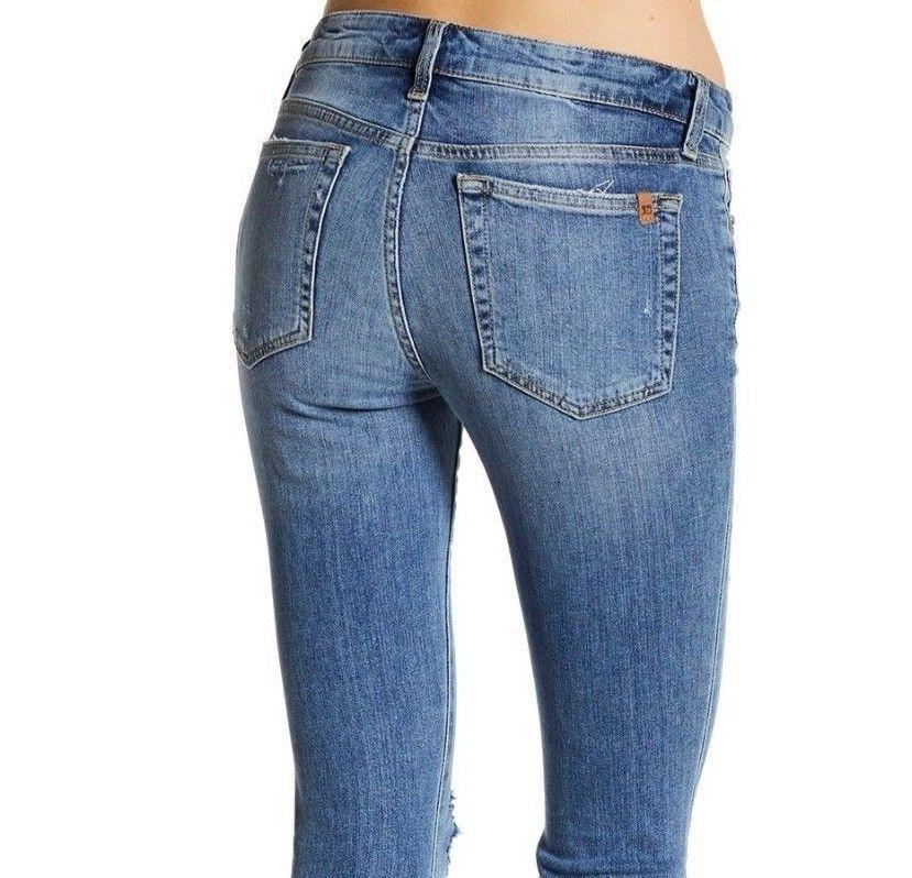 2305dfacf5220d Joe's Joe's Joe's Jeans Wakley Skinny Ankle Step Hem Destroyed sz.30 ...