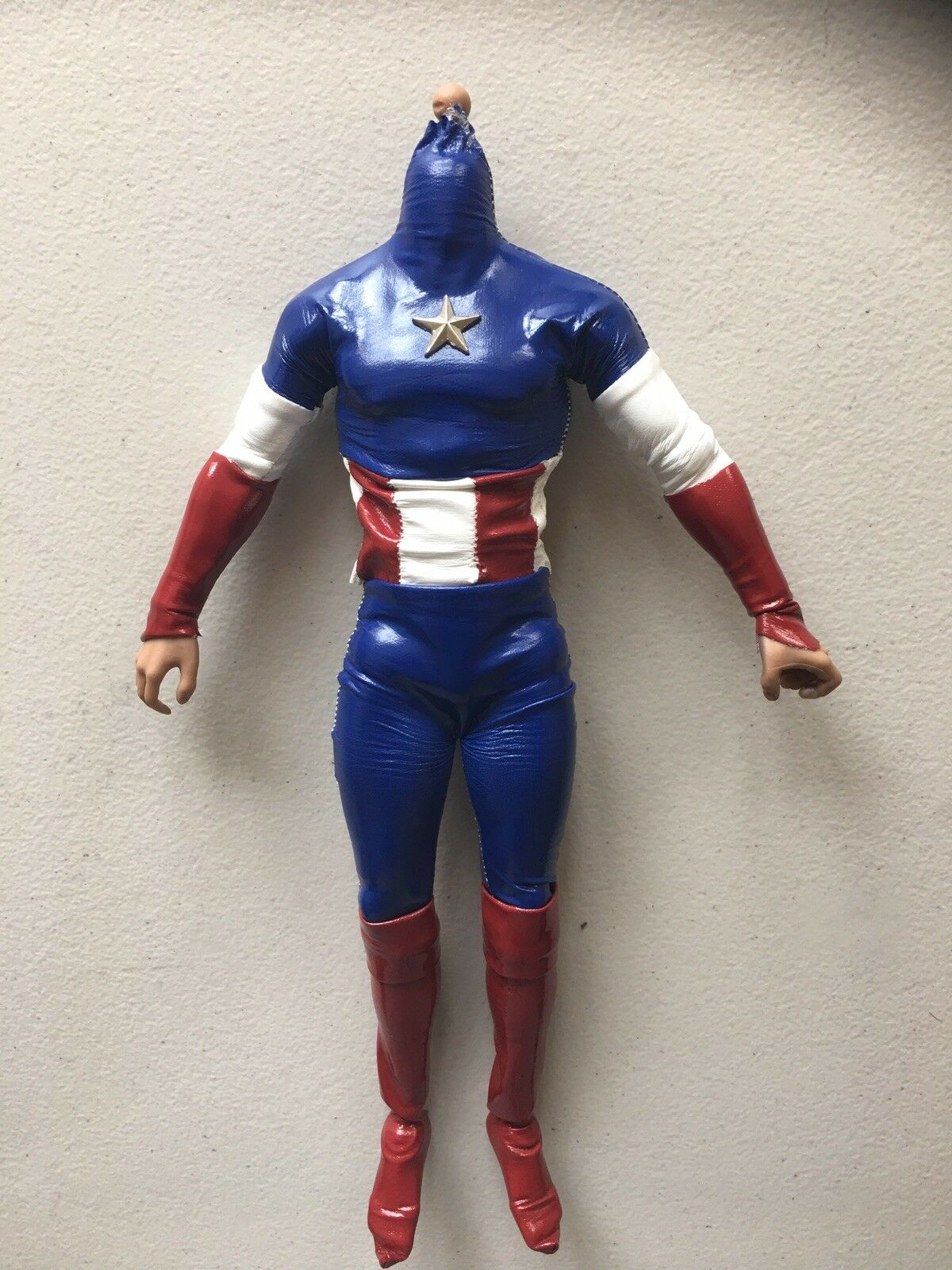 Captain america Custom 1:6 Scale Body And Suite