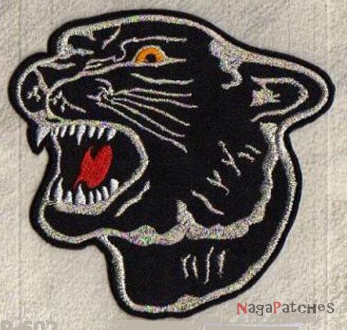 Ecusson écusson brodé patche Black Panther Panthère noire patch