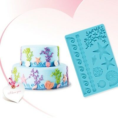 14 Models Silicone Fondant Cake Embossing Decoration Lace Gum Paste DIY Mold