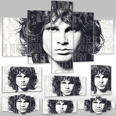 TIME4BILD THE DOORS Jim Morrison Weiß Schwarz Loft BILDER LEINWAND ART GICLEE