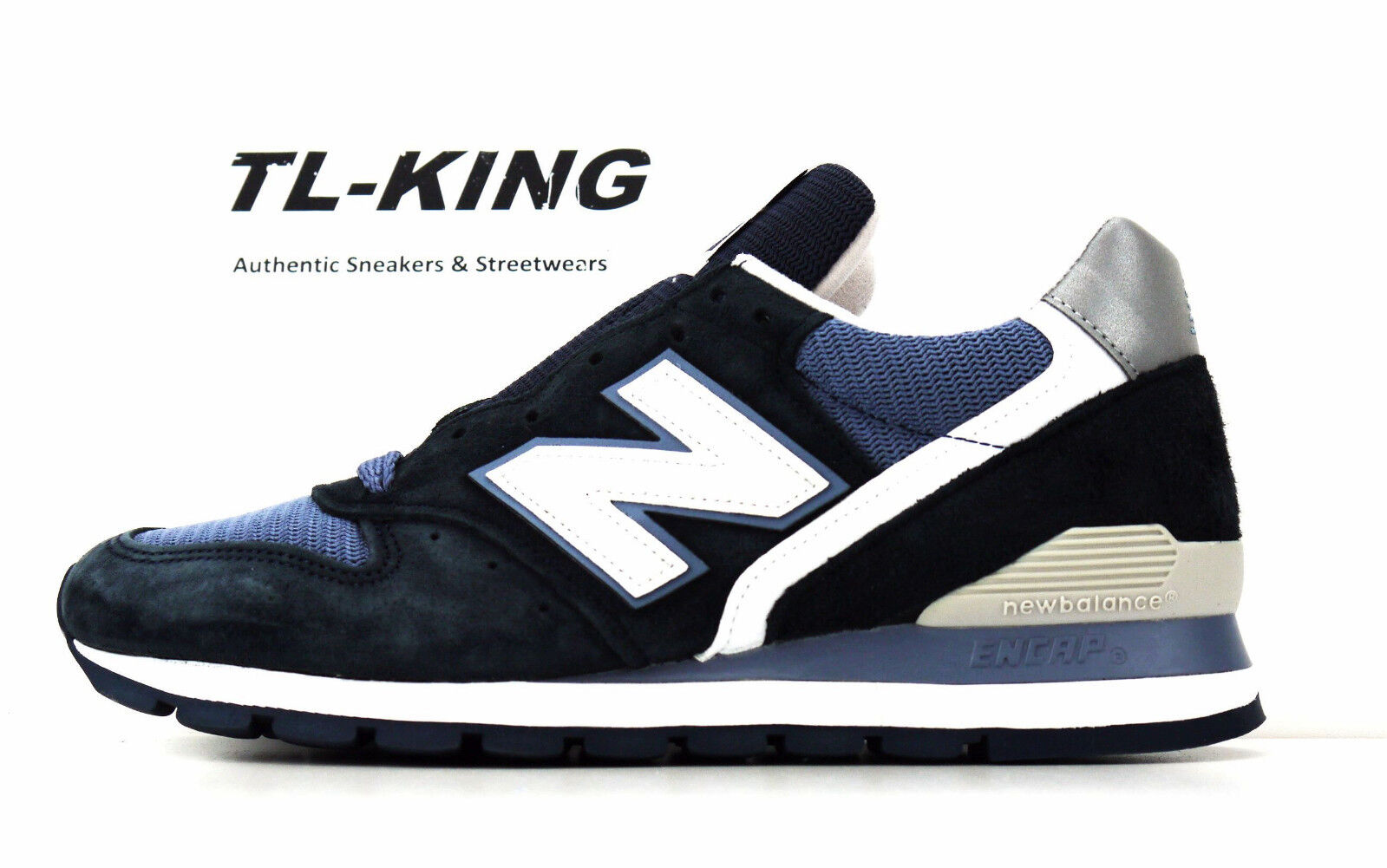 New Balance M996CPI Navy bluee White Made In USA Classic Sneaker Msrp  170 wb Jc
