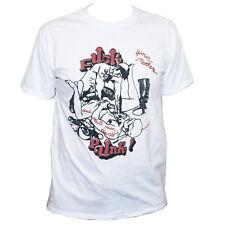 Rock And Roll Contrast T-Shirt Teddyboy Rocker Rude Boy Music Skull Punk Metal