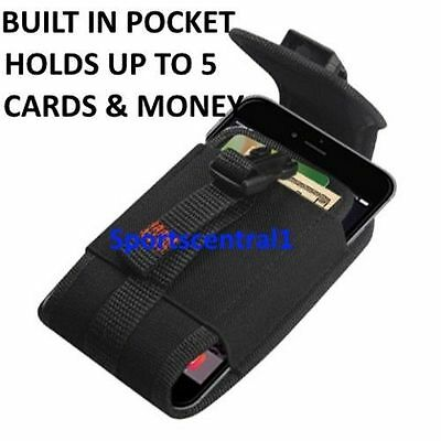 Go Pouch Belt Clip Holster For Motorola DROID Turbo Fits Otterbox Defender Case