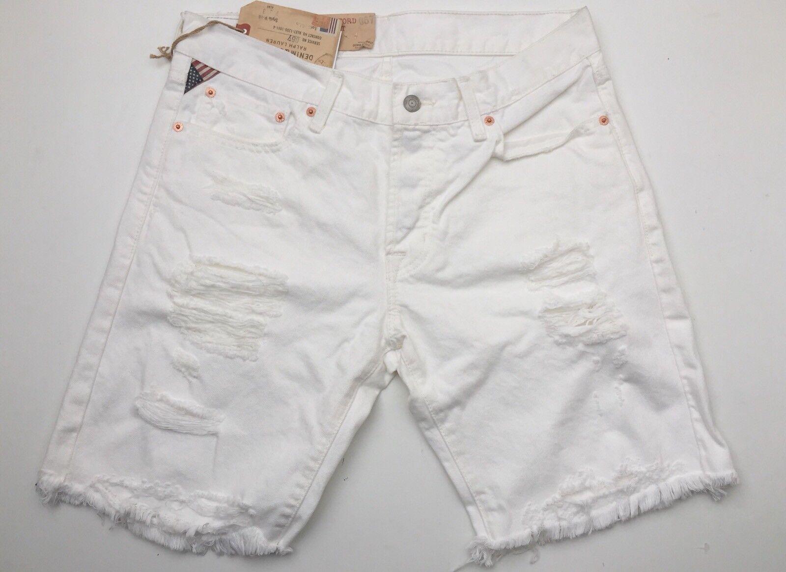Denim & Supply Ralph Lauren D&S Bedford Shorts 31 Fit 33 Guaranteed Original