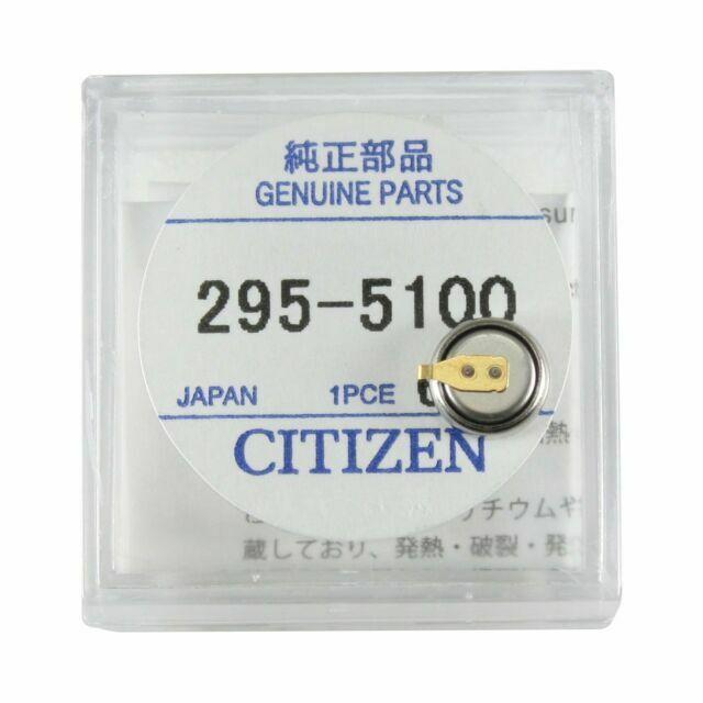 Capacitor-Rechargable Battery Panasonic  P#MT621////295-5100 Genuine Citizen Part