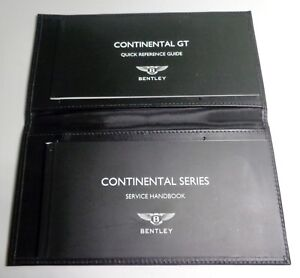 2014 bentley continental gt owners manual quick ref service book rh ebay com bentley continental gtc owners manual pdf bentley continental gtc owners manual