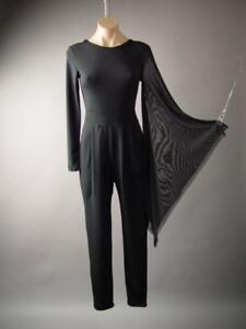 98363c3378d Image is loading Black-Avant-Garde-Kimono-Sleeve-Evening-Cocktail-Pant-