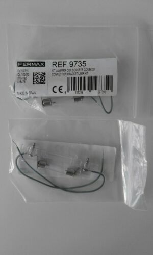 Fermax 9735. Connection Bracket Lamp Kit for CityClassic Pushbutton Intercoms