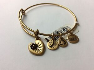 Image Is Loading Nwt Rare Alex And Ani Sacred Garden Lily