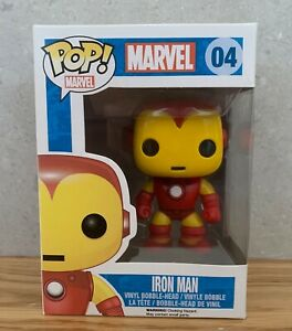 Funko Iron Man Marvel Pop Vinyl Bobble Head #04