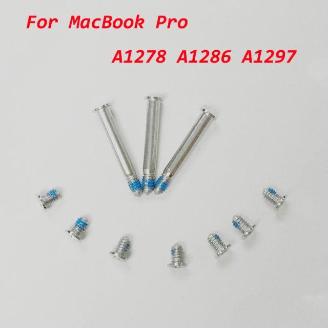"10x  Bottom Back Case Cover Screw Screws Set for MacBook Pro Series 13"" 15"" 17"""