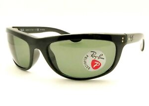 01a74fd340829 Details about Ray Ban Balorama 4089 Black New Authentic Sunglasses 601 58  Polarized