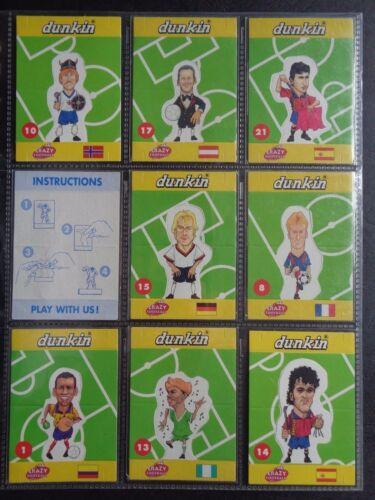 Dunkin-Crazy Fútbol Pop-Up Tarjetas 1998 por favor seleccione la tarjeta *