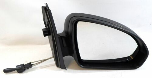 Smart Fortwo Mk2 9//2007-4//2015 Cable Wing Mirror Black Textured Drivers Side O//S