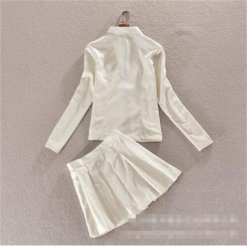 Skirt+shirt Danganronpa 2 Anime Dangan Ronpa Super Chiaki Nanami Cosplay Coat